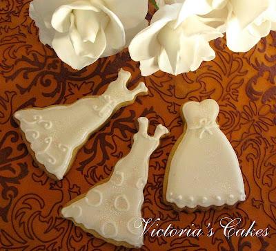 victoria's cakes: galletas decoradas colección 2010 bodas