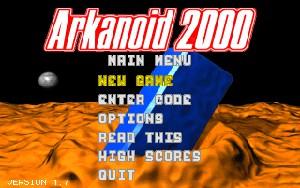 Arkanoid 2000 šifre za PC igre