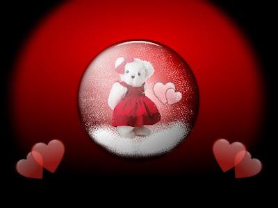 Zaljubljena medvjedica download besplatne pozadine ljubavne slike Valentinovo čestitke