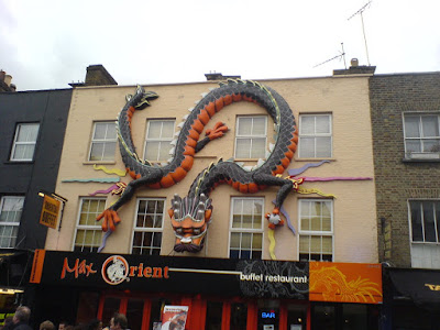 dragon of Camden Town market