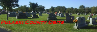 Sunset Memorial Estates Cemetery, near Waynesville, MO.  Photo by Pulaski County Obits, September 2009