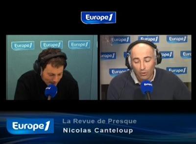 Revue de presque Nicolas Canteloup 2 mars 2010