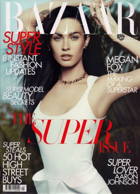Megan Fox sexy Harper's Bazaar Avril 2010