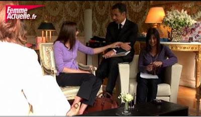 Nicolas Sarkozy s'invite lors d'un entretien entre Carla et les lectrices de Femme Actuelle (vidéo)