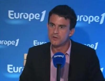 Manuel Valls répond à Martine Aubry