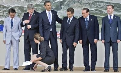 Sarkozy et Berlusconi se rincent l'oeil