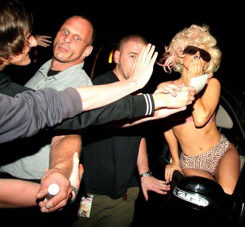 Lady Gaga ivre