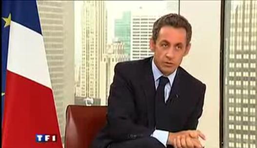 Nicolas Sarkozy parle des coupables dans Clearstream