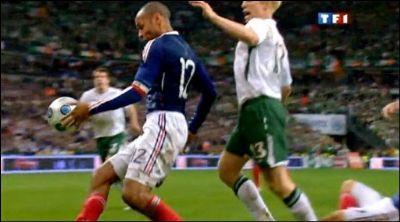 Main de Thierry Henry