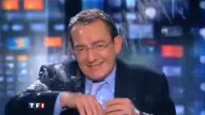 Jean Pierre Pernaut Boule de neige