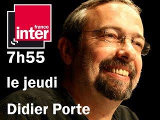 Didier Porte viré de France Inter