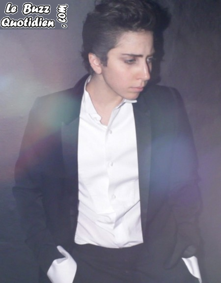 photos Lady Gaga transformée en homme vogue japon