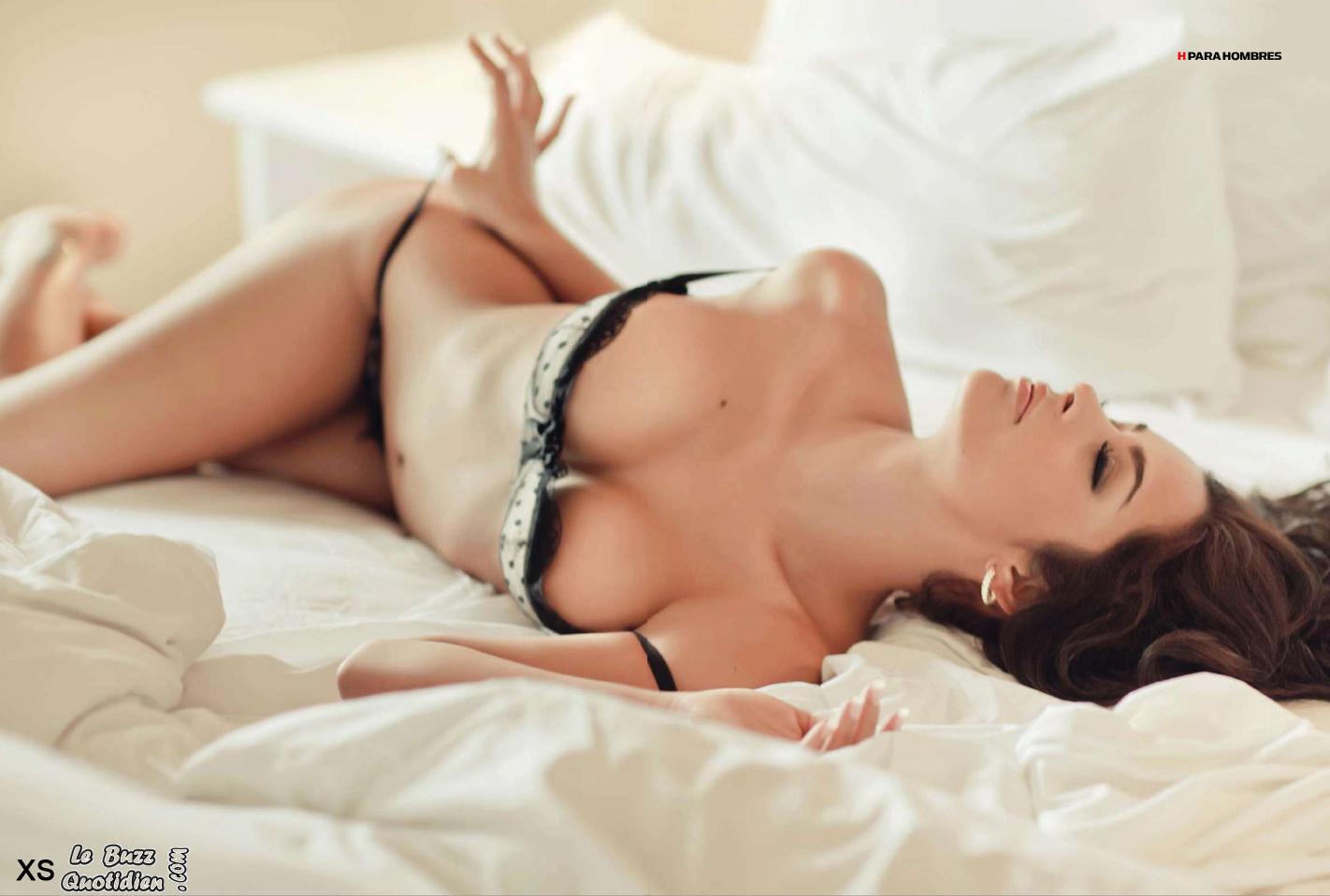 Larissa Riquelme presque nue