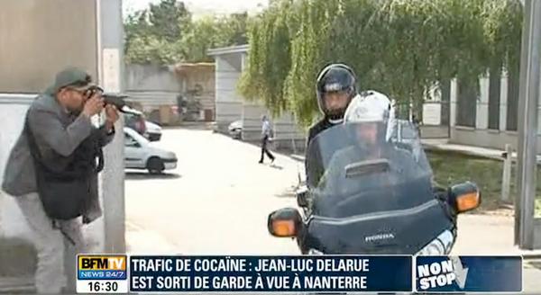 Jean-Luc Delarue est ressorti libre de garde à vue