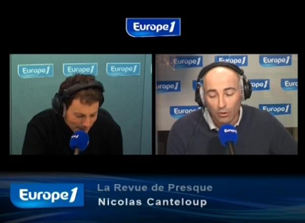 Revue de presque Nicolas Canteloup jeudi 16 septembre 2010