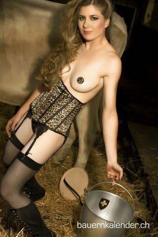 Calendrier des paysannes sexy 2011