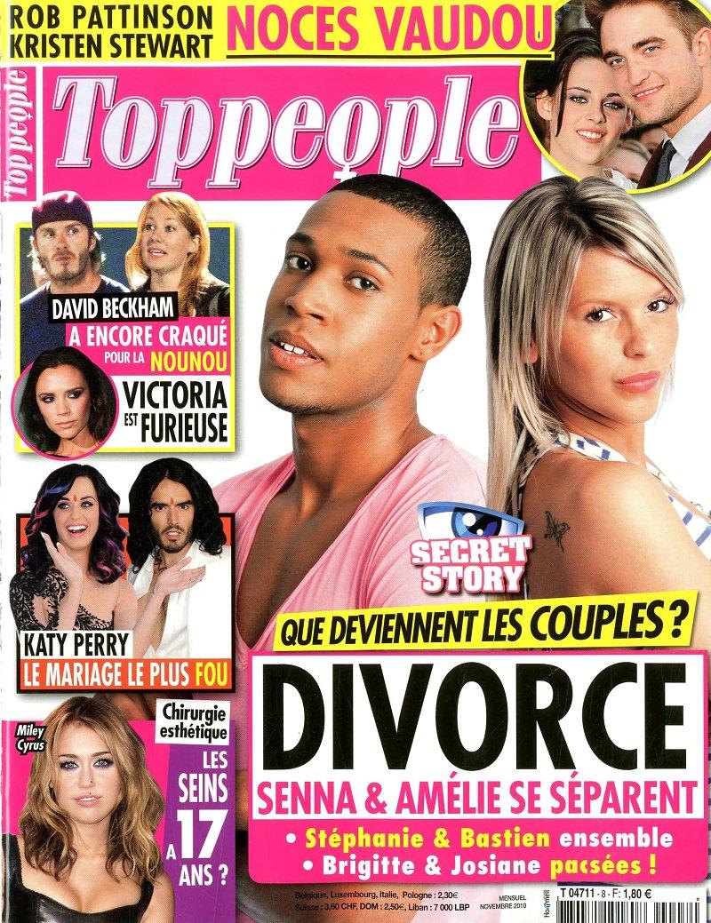 Amélie Senna Secret Story 4 séparation divorce c'est fini