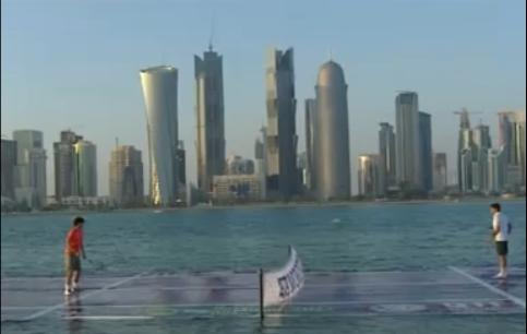 Nadal Federer Doha 2011