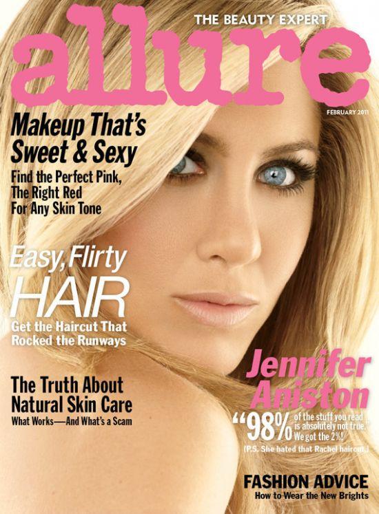 Jennifer Aniston Allure