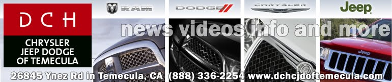 DCH Chrysler Jeep Dodge of Temecula News and Views