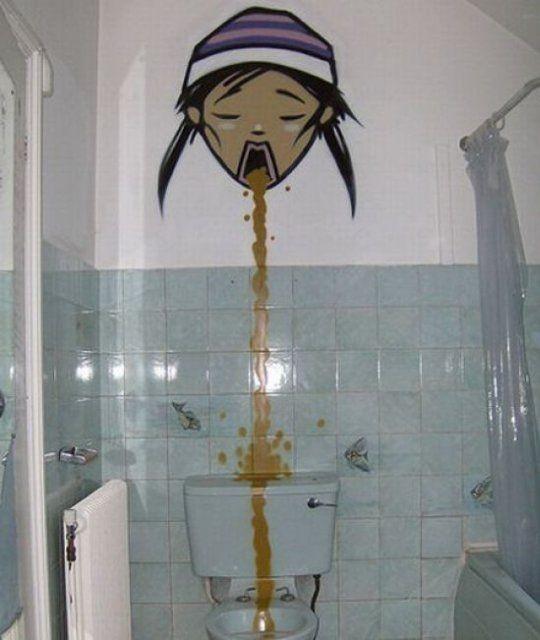 El planeta de kaín: escalofriantes y divertidos graffitis en los baños