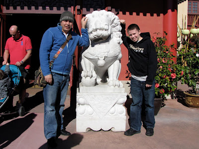 male chinese lion epcot