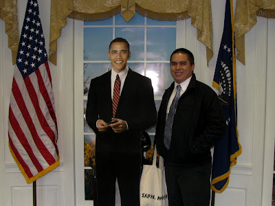 Barack Obama Angelo Villagomez