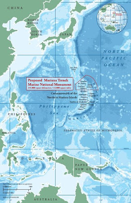 proposed marianas trench marine national monument