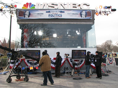 obama inauguration msnbc