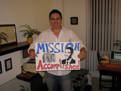 mission accomplished poster