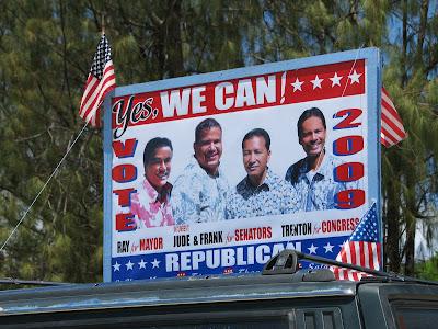 Tinian Republican Banner