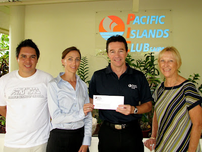 pacific islands club donation paws