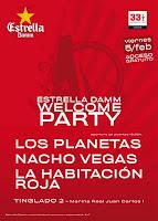 conciertos copa america valencia 2010. Los Planetas, Vegas y La habitacion Roja