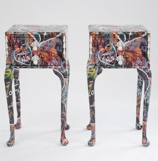 muebles decoracion arte pop y graffitis