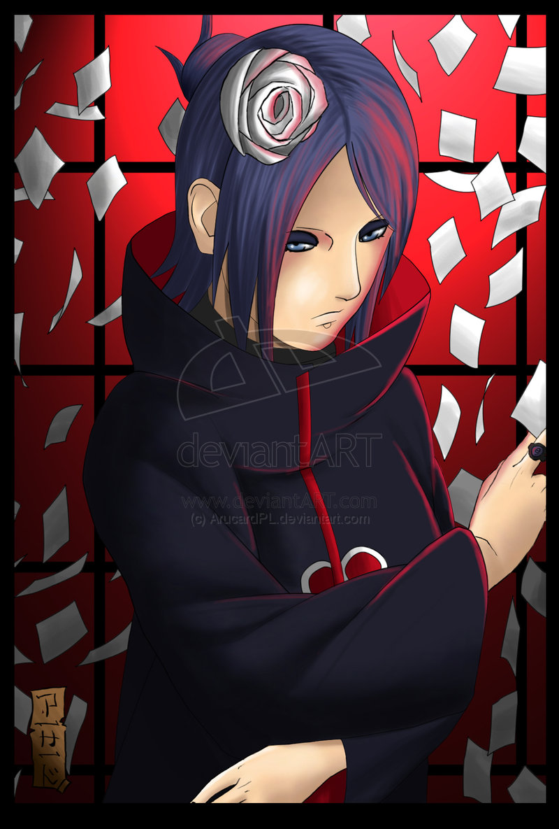 Konan Cartoons Naruto