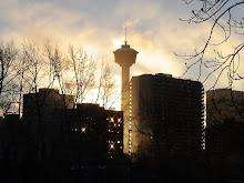 Calgary sun burst