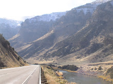 The Wind River Canyon
