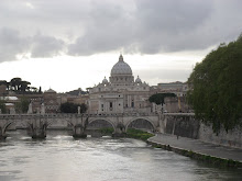 Overlooking the Tiber River