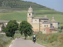 Entering Castrojeriz