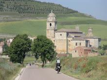 Entering Castrojeriz