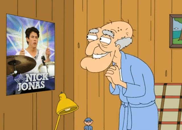 Nick Jonas on Family Guy