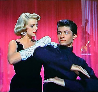 George Chahiris, Rosemary Clooney in White Christmas