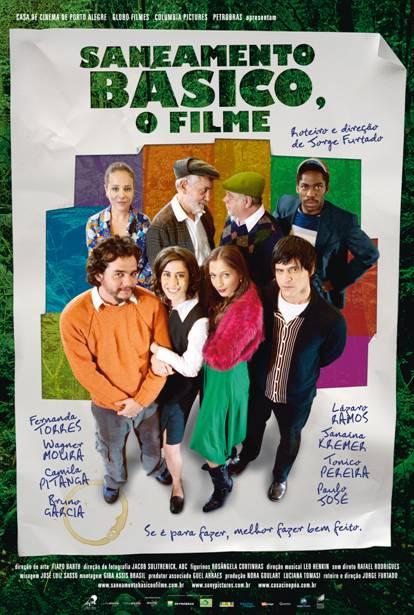 Filme Poster Saneamento Básico, O Filme DVDRip XviD & RMVB Nacional