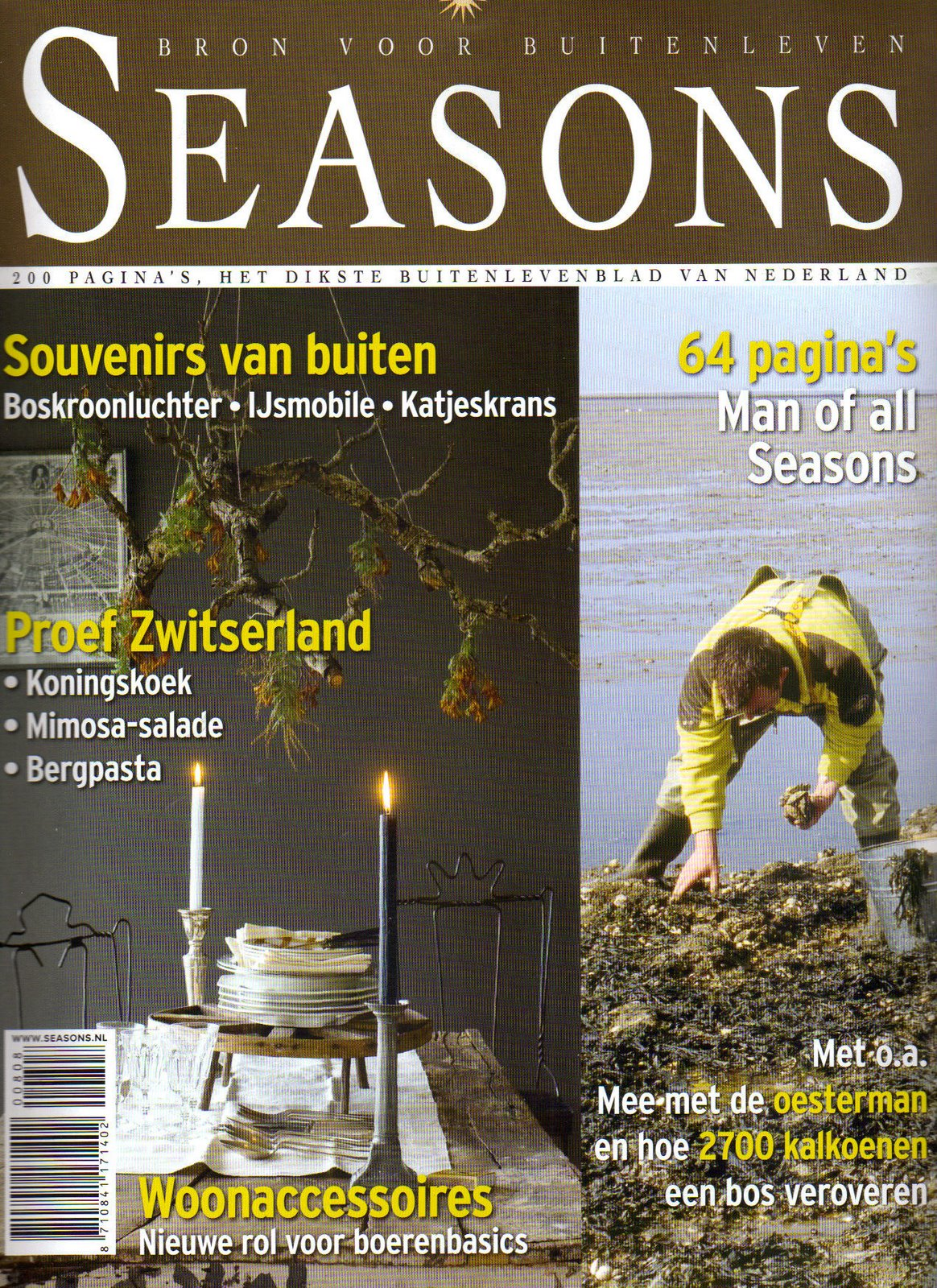 Magazine néérlandais Seasons n° 8