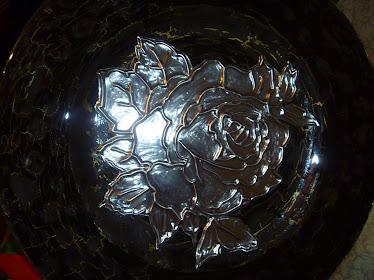 Un trabajo con el vidrio y el plomo