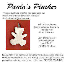 Paula's Plucker  (Used for Mulberry Paper/Tear Bears)