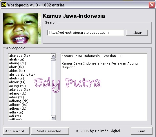 DOWNLOAD KAMUS BAHASA JAWA