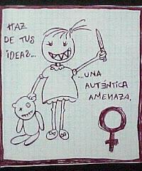 sos mujer, pensa como mujer