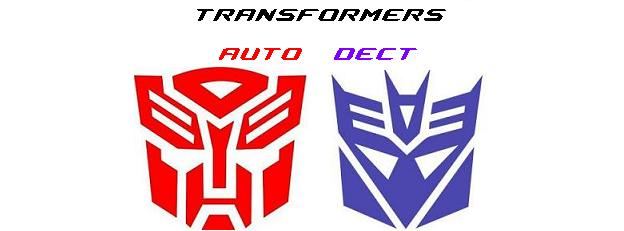 Transformers : Auto - Dect