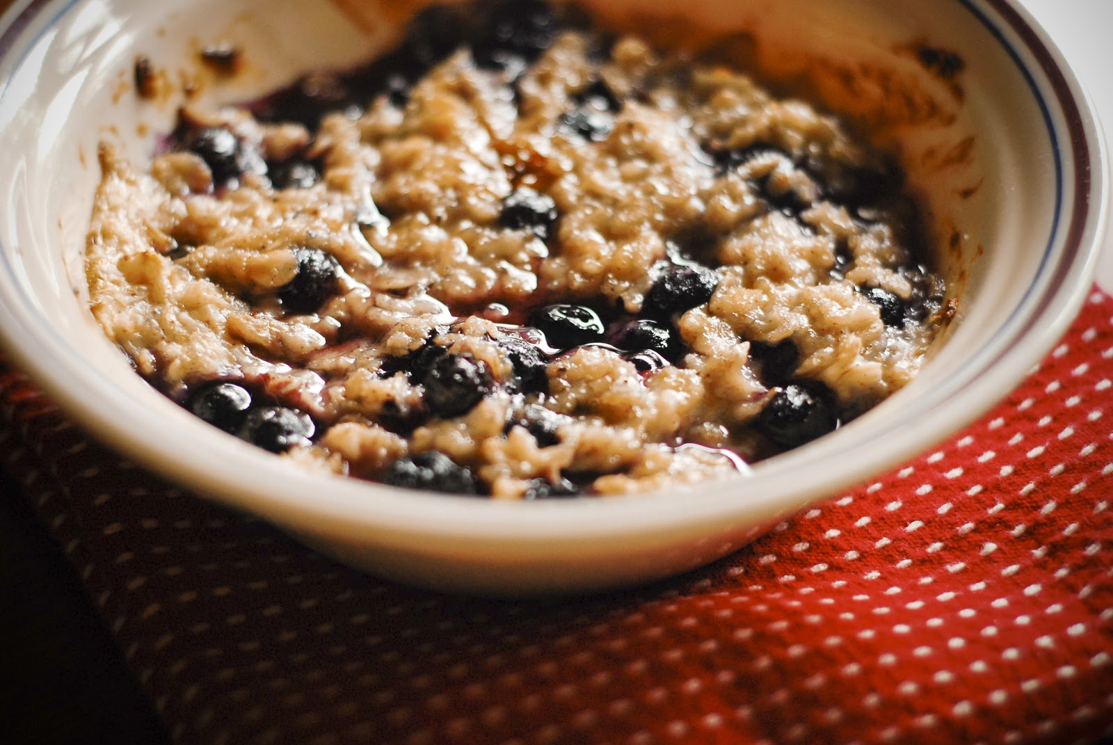 breakfast yesterday was blueberry creme brulee oatmeal yum no make ...